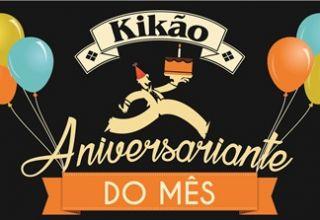Aniversariante do Mês no Kikão Restaurante ganha presente Especial!